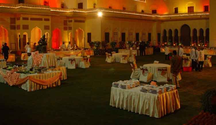 Catering For Royal Wedding IndiaCatering At Raj Palace For Wedding - Catering buffet table setup